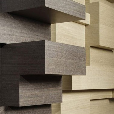WOODSTOCK and ECOLIGNA Dyed Real Wood Veneers from TABU®